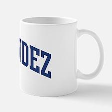 HERNANDEZ design (blue) Mug