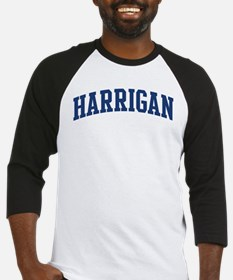 HARRIGAN design (blue) Baseball Jersey