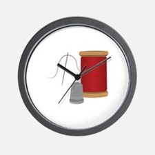 Needle & Thread Wall Clock