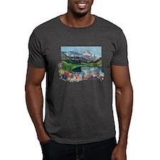 Swiss Beauty CharcoalT-Shirt