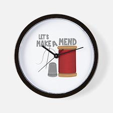 Make a mend Wall Clock