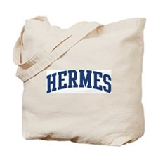 HERMES design (blue) Tote Bag