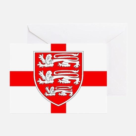 Cute England Greeting Card