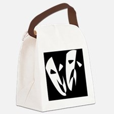 Funny Drama Canvas Lunch Bag