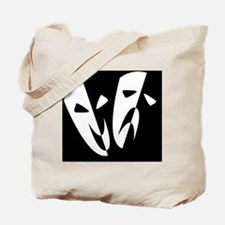 Cute Comedy tragedy Tote Bag