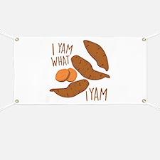 I Yam Banner