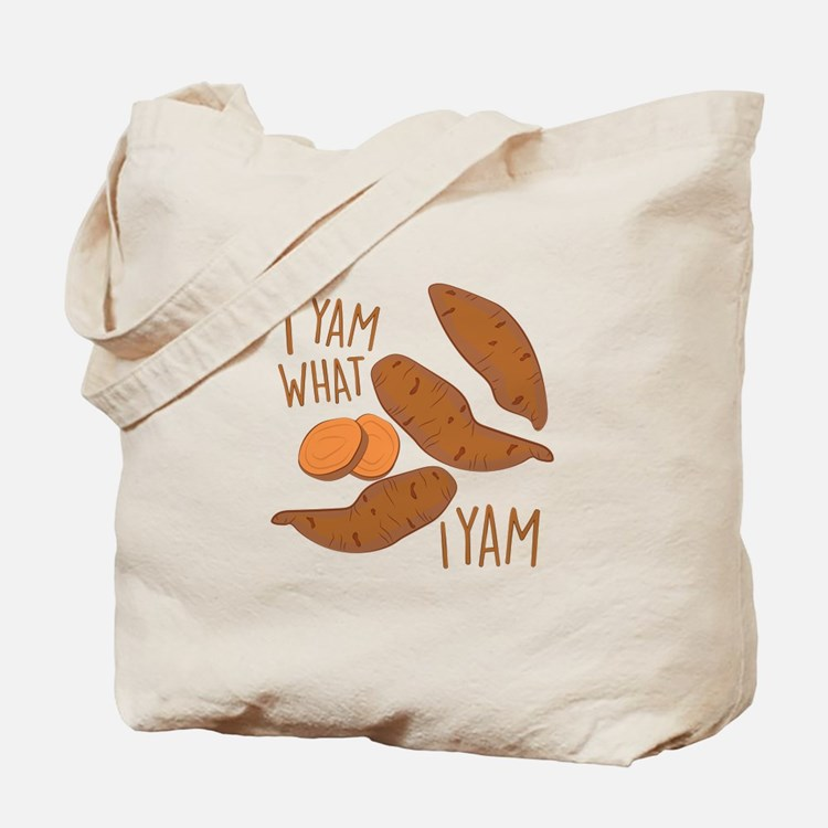 I Yam Tote Bag