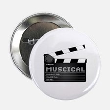 """Cute Musical genres 2.25"""" Button"""