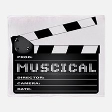Musical genres Throw Blanket