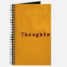 """Thoughts"" Plumeria Journal"