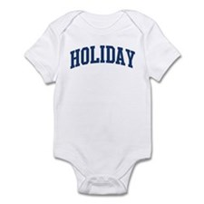 HOLIDAY design (blue) Infant Bodysuit