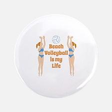 Beach Volleyball Button