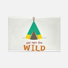 Into The WildTeepee Magnets