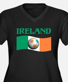 TEAM IRELAND WORLD CUP Women's Plus Size V-Neck Da