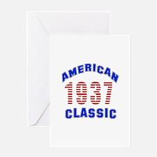 American Classic 1937 Greeting Card