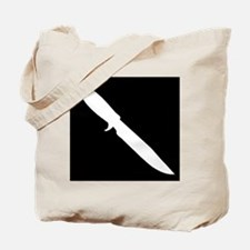 Unique Bowie knife Tote Bag