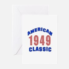 American Classic 1949 Greeting Cards (Pk of 20)