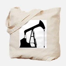 Cute Oil rig Tote Bag
