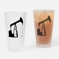 Cute Drilling rig Drinking Glass