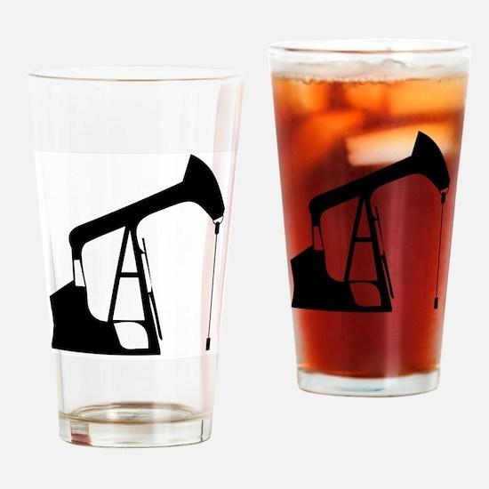 Cute Oil industry Drinking Glass