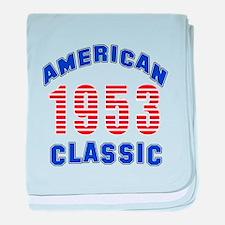 American Classic 1953 baby blanket