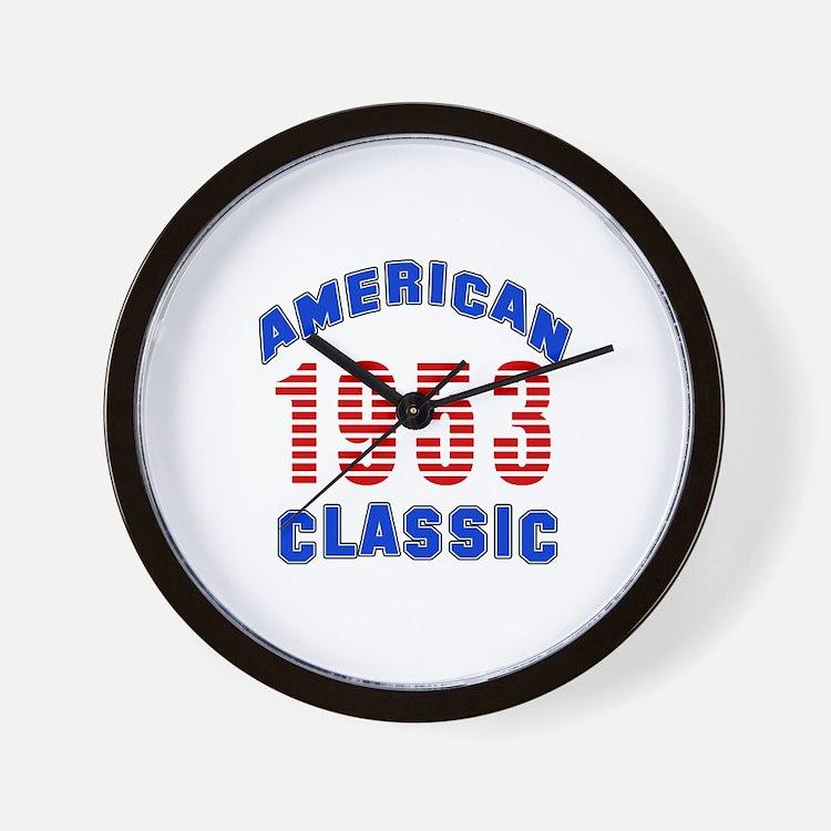 American Classic 1953 Wall Clock