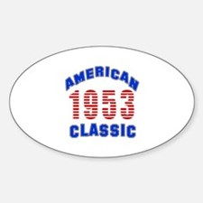 American Classic 1953 Decal