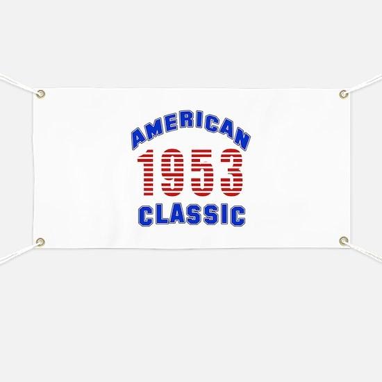 American Classic 1953 Banner