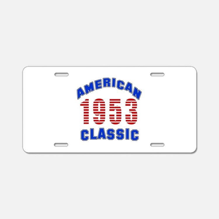 American Classic 1953 Aluminum License Plate