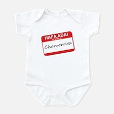 Hafa Adai... Chamorrita Infant Bodysuit