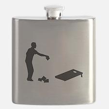 Cornhole Flask