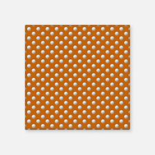 "GOLF DAD Square Sticker 3"" x 3"""