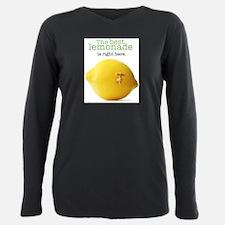 Unique Lemons Plus Size Long Sleeve Tee