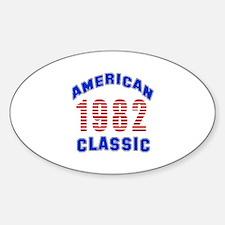 American Classic 1982 Decal