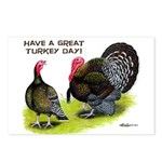 Turkey Day Postcards (Package of 8)