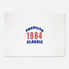 American Classic 1984 5'x7'Area Rug