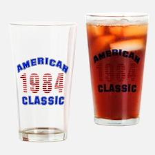 American Classic 1984 Drinking Glass
