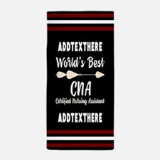 Boho Arrow Personalized CNA Beach Towel