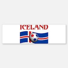 TEAM ICELAND WORLD CUP Bumper Bumper Bumper Sticker