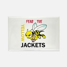 Fear The Yellow Jackets Magnets