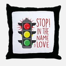 Name Of Love Throw Pillow