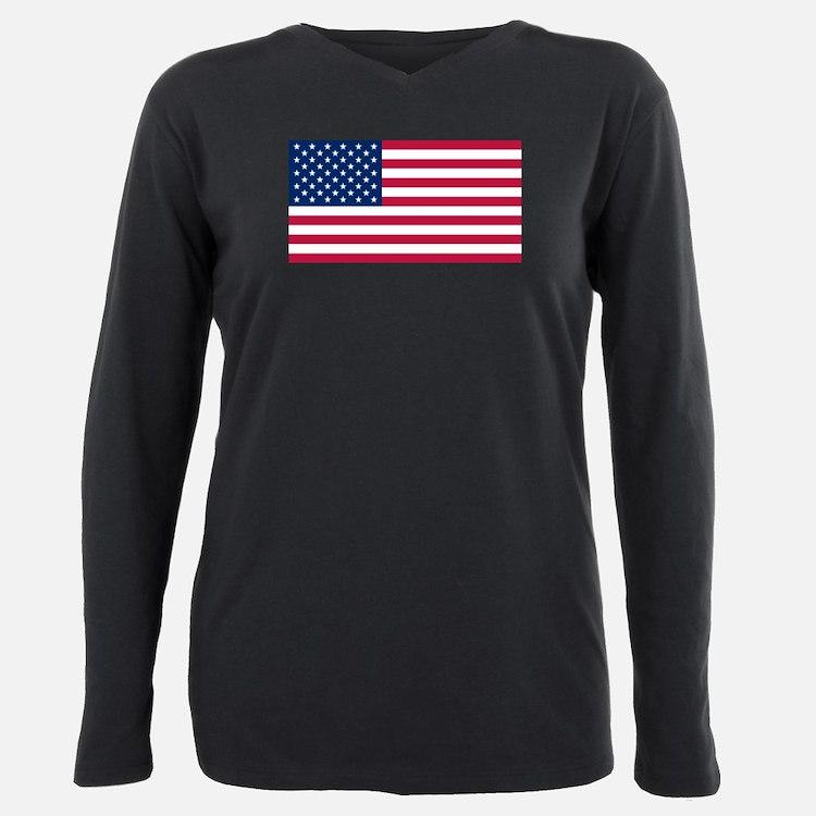 Cute America Plus Size Long Sleeve Tee