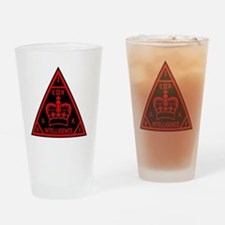 Cute English flags Drinking Glass