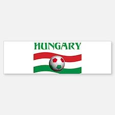TEAM HUNGARY WORLD CUP Bumper Bumper Bumper Sticker