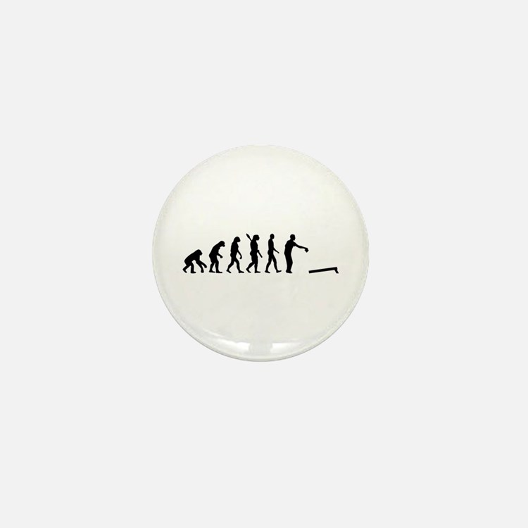 Evolution Cornhole Mini Button