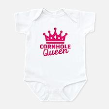 Cornhole queen Infant Bodysuit
