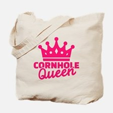 Cornhole queen Tote Bag
