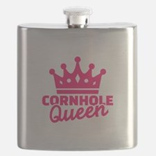 Cornhole queen Flask