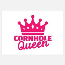 Cornhole queen Invitations