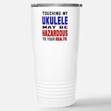 Touching my Ukulele May Travel Mug